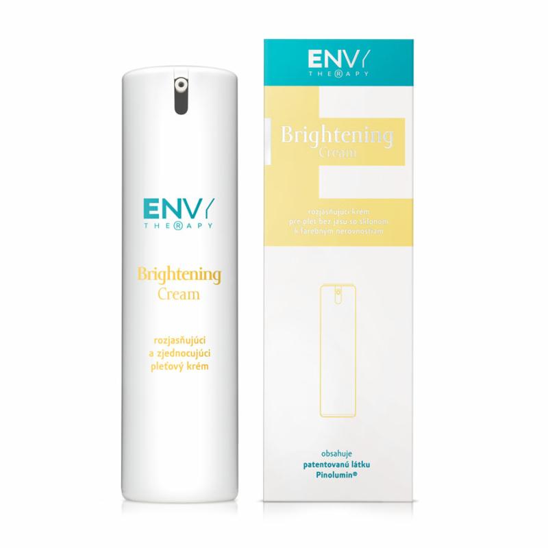 ENVY Therapy - Brightening Cream Bőrtónusjavító krém, színegyenetlenségekre hajlamos bőr számára