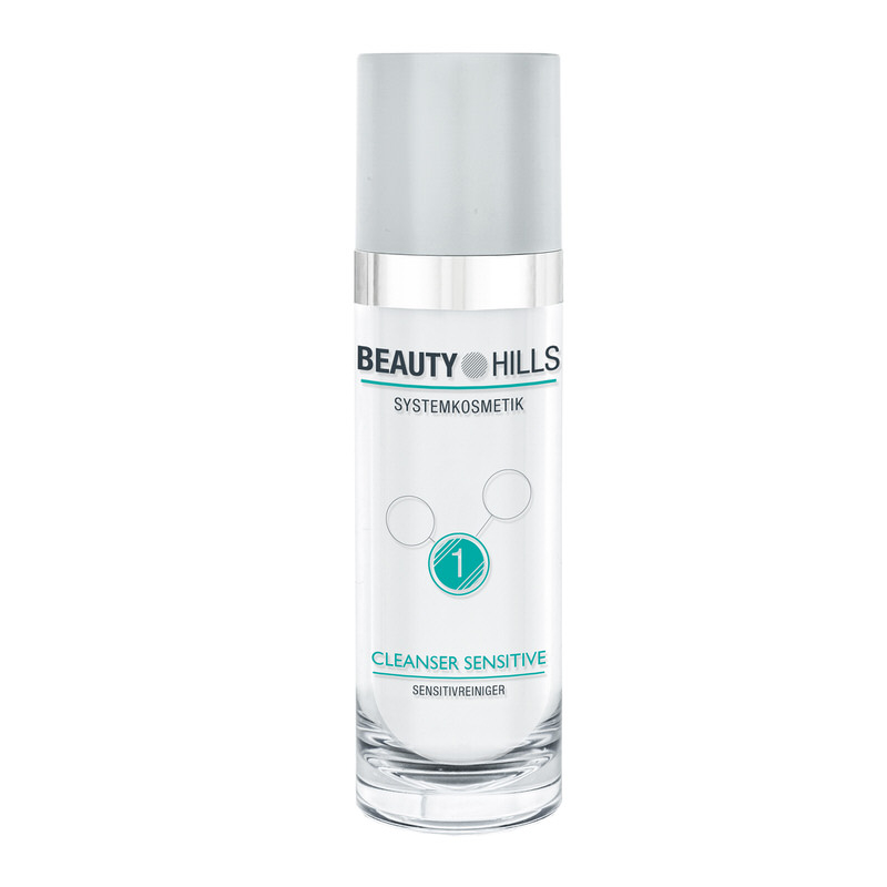 Beauty Hills - Cleanser Sensitive arctisztító gél