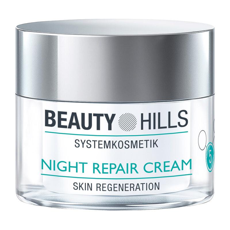 Beauty Hills - Night Repair Cream éjszakai hidratáló arckrém